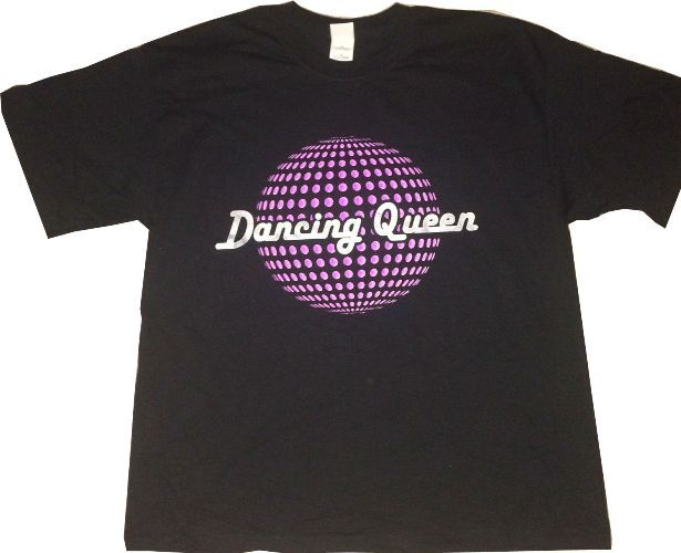 Confessions Tour Dancing Queen Discoball T Shirt