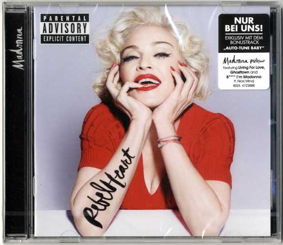 Rebel Heart Germany Special Standard Edition Cd Auto
