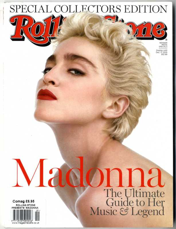 Rolling Stone Special Madonna Collectors Edition 2015