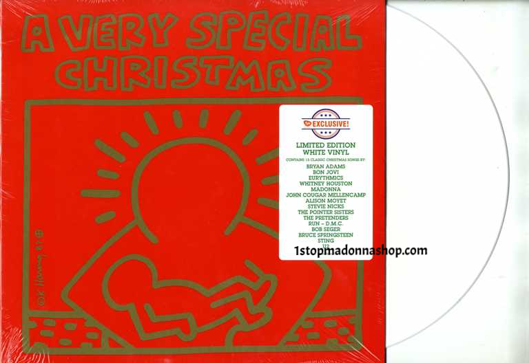 A Very Special Christmas.Santa Baby On A Very Special Christmas Usa White Vinyl Lp