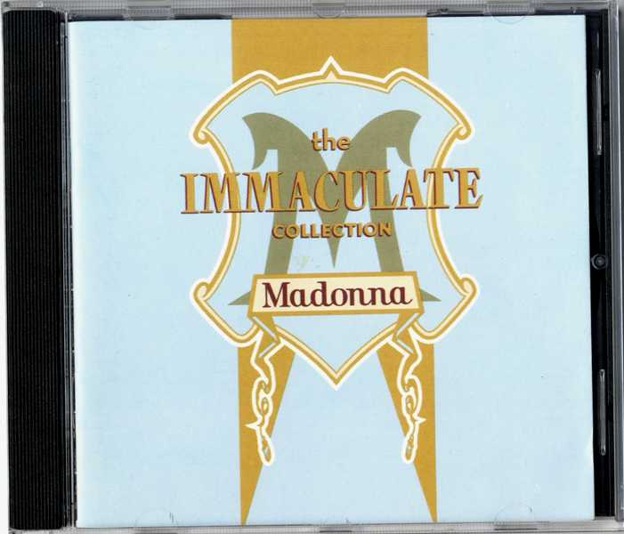 THE IMMACULATE COLLECTION - USA (Columbia House) CD ALBUM