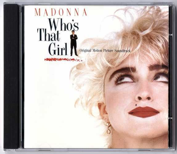 Who S That Girl Germany Soundtrack Cd Album